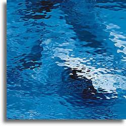 bleu moyen Waterglass