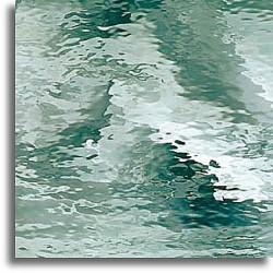 vert d'eau Waterglass