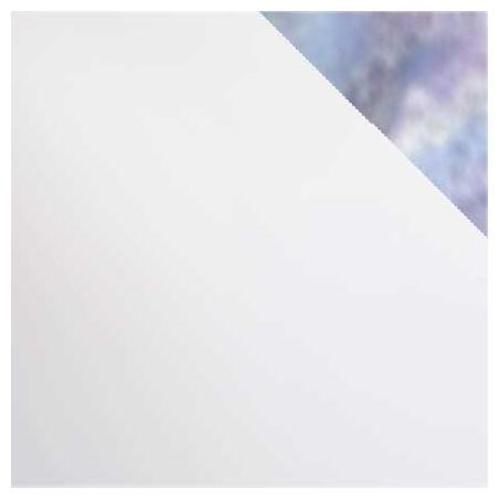 blanc opalescent iridescent