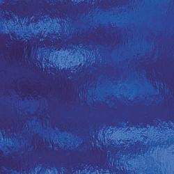 bleu foncé, transparent ondulé