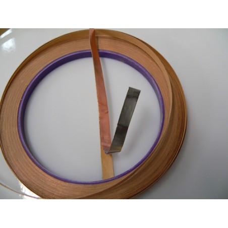 cuivre adhésif argenté Edco 6.35mm