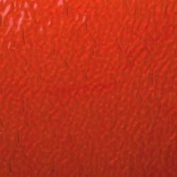 rouge clair, translucide uni chenillé