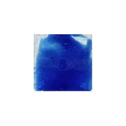 émail bleu