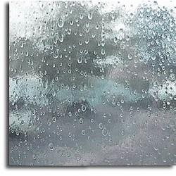 """clair, translucide """"gouttes de pluie"""""""
