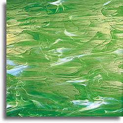 vert pâle et blanc, wispy
