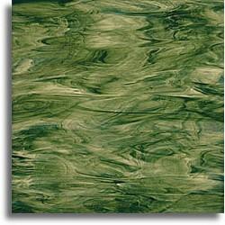 vert olive, vert lime et blanc, semi-translucide