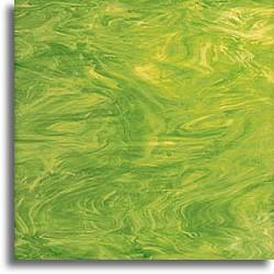 vert lime et blanc, semi-translucide