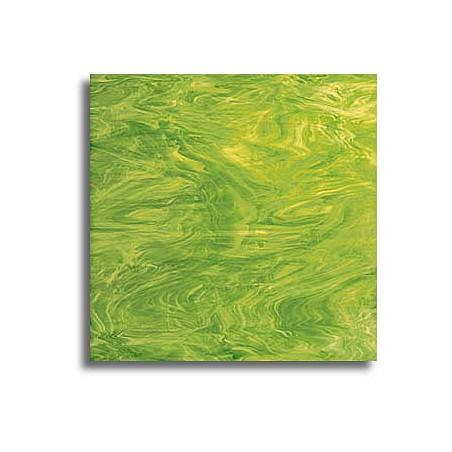 vert lime et blanc