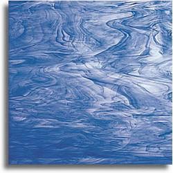 bleu foncé et blanc, semi-translucide