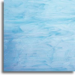 bleu ciel et blanc, semi-translucide