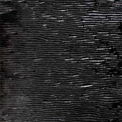 noir, opalescent cordelé 3mm