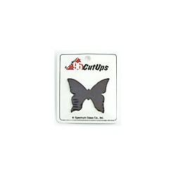 papillon noir iridescent