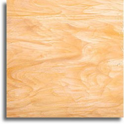 ambre clair/blanc, semi-translucide