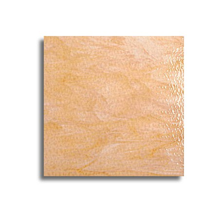 ambre clair/blanc, semi-translucide granité