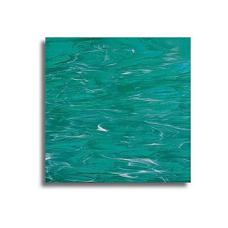 vert canard/blanc, translucide wispy