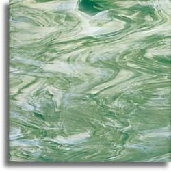 vert écume/blanc, translucide