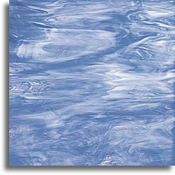 bleu pâle/blanc, translucide