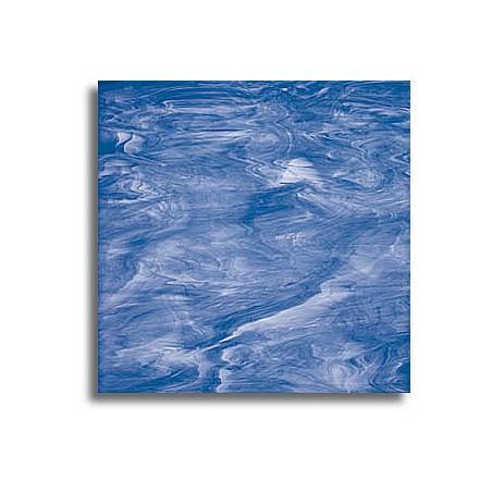 bleu clair/blanc, translucide