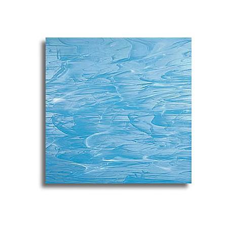 bleu ciel/blanc, translucide wispy