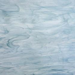 bleu colonial/blanc, semi-translucide