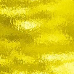 jaune, transparent ondulé