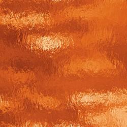 orange, transparent ondulé