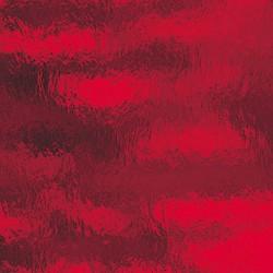 rouge cerise, transparent ondulé