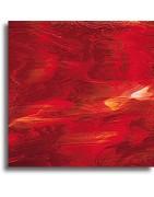 verre Spectrum rouge pour le vitrail